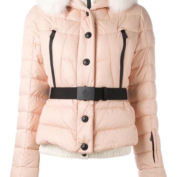 5237b1a50b1e moncler grenoble beverley fox fur-trimmed coat